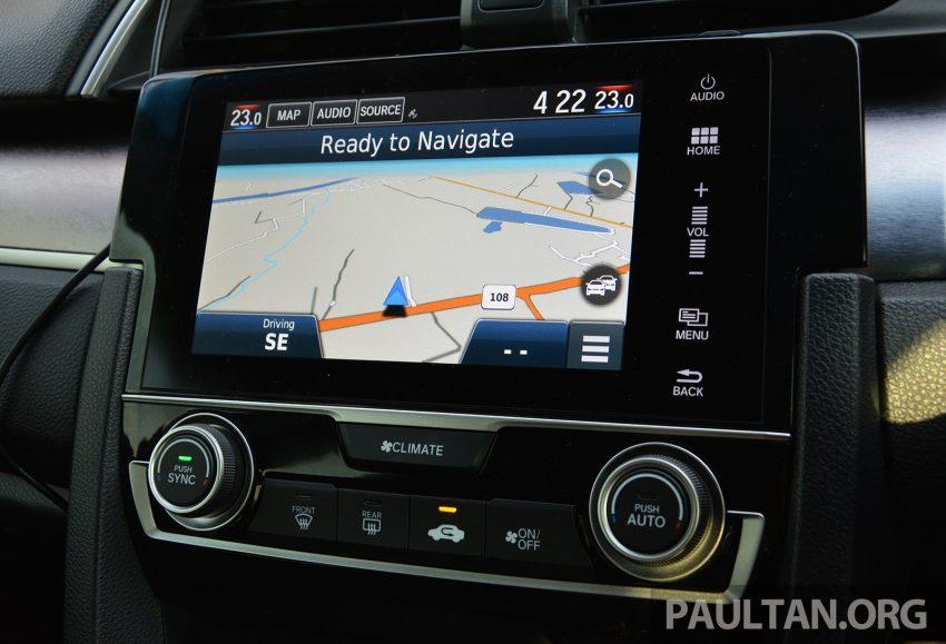 PANDU UJI: Honda Civic 1.8 dan 1.5 VTEC Turbo 2016 – peningkatan bagi gen-10 yang lebih memuaskan? Image #490896