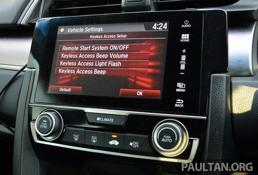 PANDU UJI: Honda Civic 1.8 dan 1.5 VTEC Turbo 2016 – peningkatan bagi gen-10 yang lebih memuaskan? Image #490898