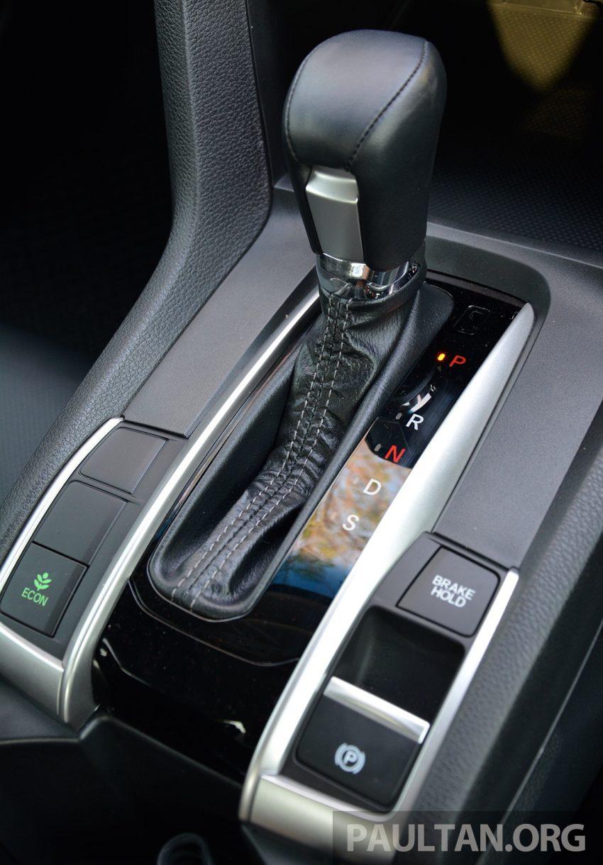 PANDU UJI: Honda Civic 1.8 dan 1.5 VTEC Turbo 2016 – peningkatan bagi gen-10 yang lebih memuaskan? Image #490899