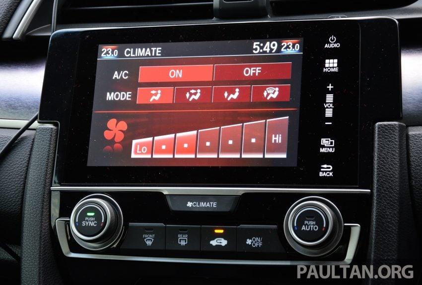 PANDU UJI: Honda Civic 1.8 dan 1.5 VTEC Turbo 2016 – peningkatan bagi gen-10 yang lebih memuaskan? Image #490905