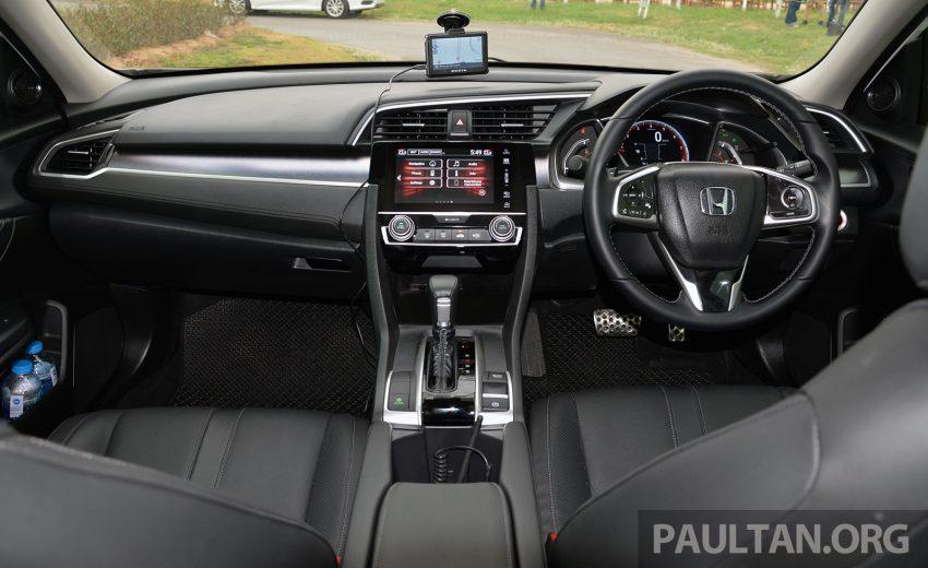 PANDU UJI: Honda Civic 1.8 dan 1.5 VTEC Turbo 2016 – peningkatan bagi gen-10 yang lebih memuaskan? Image #490833