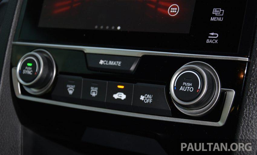 PANDU UJI: Honda Civic 1.8 dan 1.5 VTEC Turbo 2016 – peningkatan bagi gen-10 yang lebih memuaskan? Image #490907