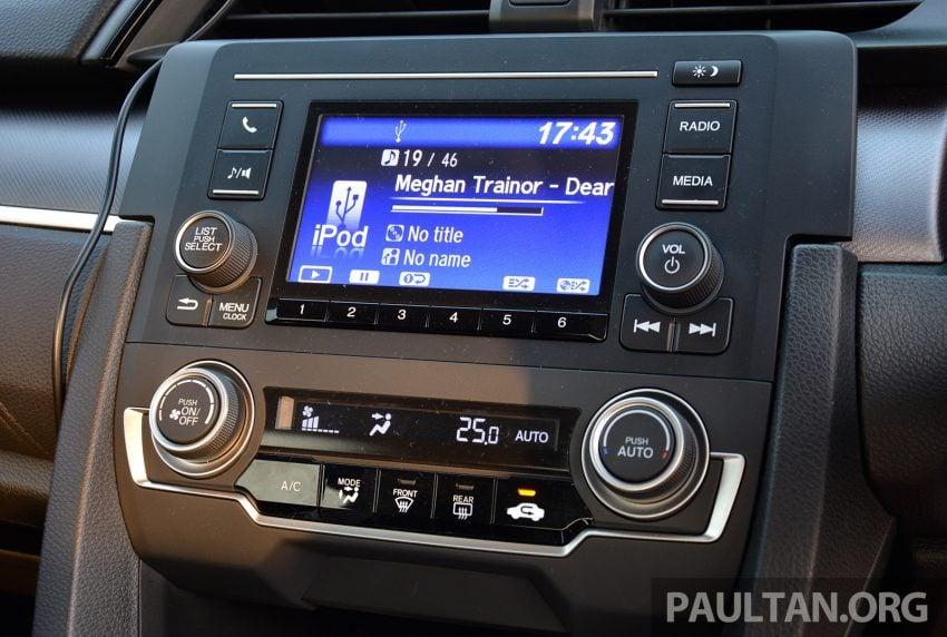 DRIVEN: 2016 FC Honda Civic 1.8L, 1.5L VTEC Turbo Image #490710