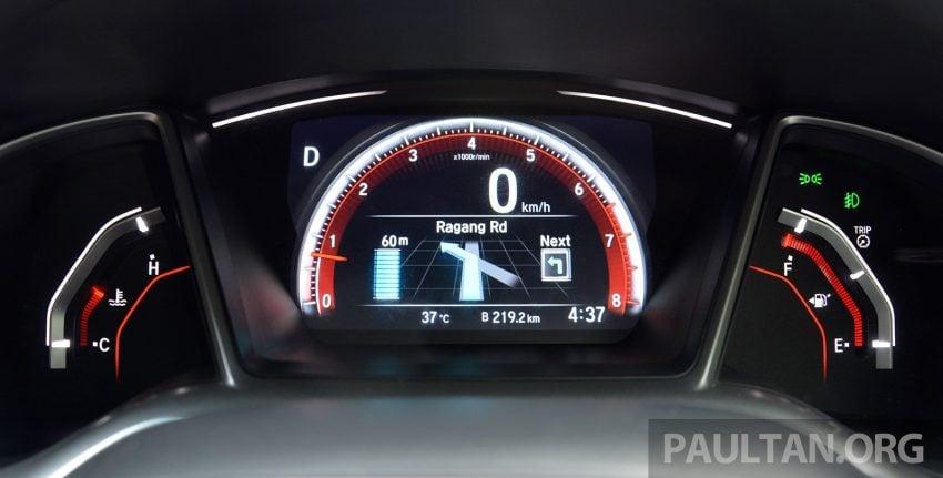 PANDU UJI: Honda Civic 1.8 dan 1.5 VTEC Turbo 2016 – peningkatan bagi gen-10 yang lebih memuaskan? Image #490911