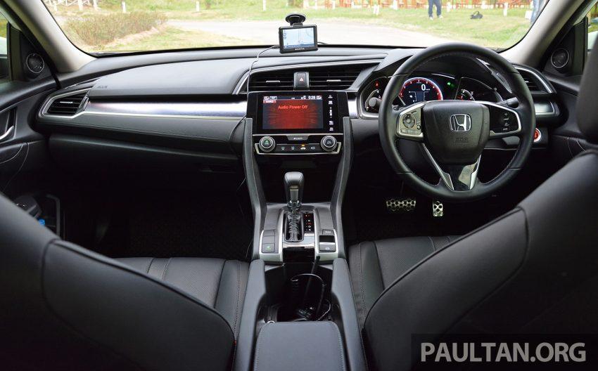 PANDU UJI: Honda Civic 1.8 dan 1.5 VTEC Turbo 2016 – peningkatan bagi gen-10 yang lebih memuaskan? Image #490834