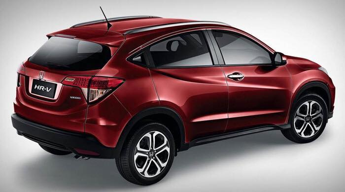 Hr V 2018 >> Honda HR-V in Malaysia updated with 17-inch wheels, new Dark Ruby Red Pearl body colour; RM672 ...