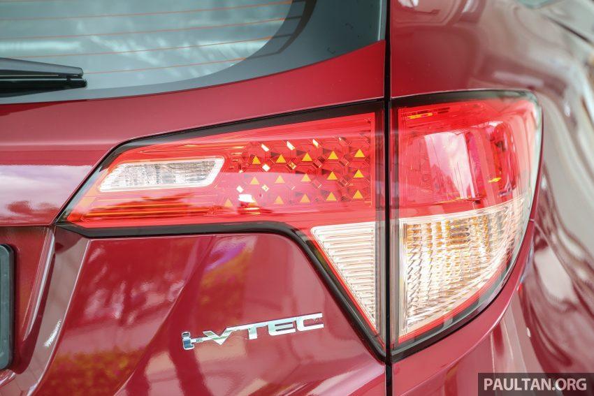 GALERI: Honda HR-V berwarna Dark Ruby Red Pearl Image #497752