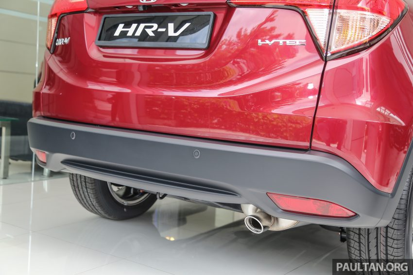 GALLERY: Honda HR-V in Dark Ruby Red Pearl colour Image #497611