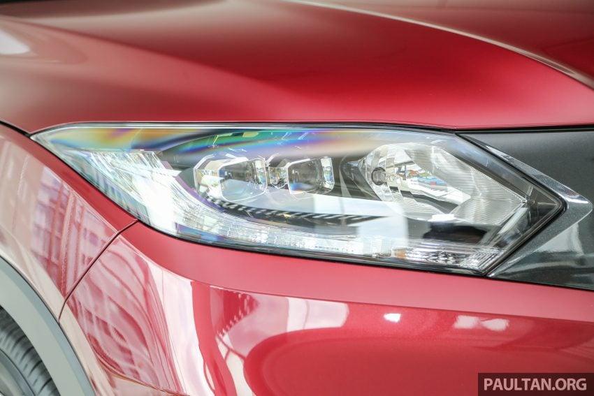 GALLERY: Honda HR-V in Dark Ruby Red Pearl colour Image #497595