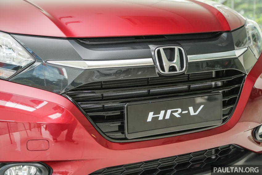 GALLERY: Honda HR-V in Dark Ruby Red Pearl colour Image #497596