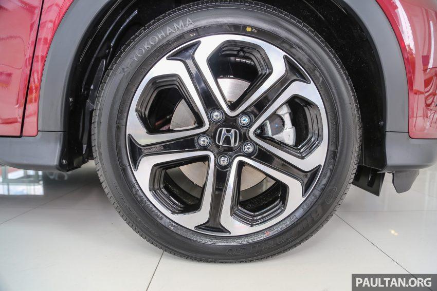 GALLERY: Honda HR-V in Dark Ruby Red Pearl colour Image #497600