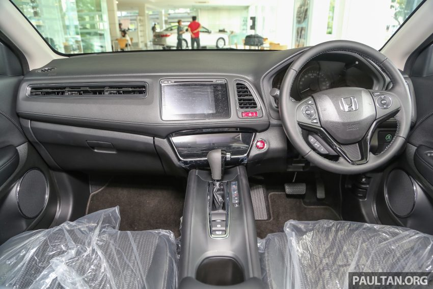 GALLERY: Honda HR-V in Dark Ruby Red Pearl colour Image #497615
