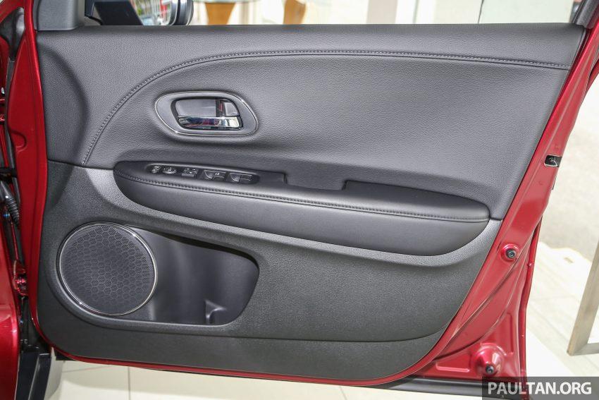 GALERI: Honda HR-V berwarna Dark Ruby Red Pearl Image #497733