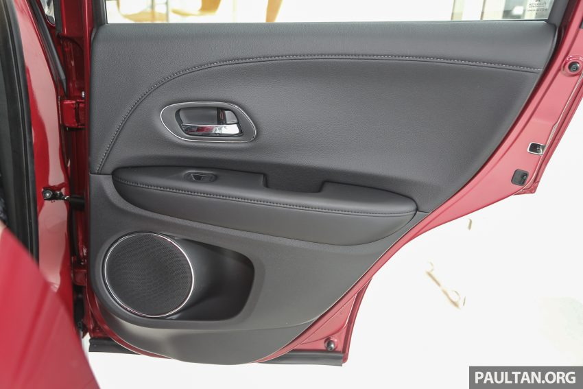 GALLERY: Honda HR-V in Dark Ruby Red Pearl colour Image #497629
