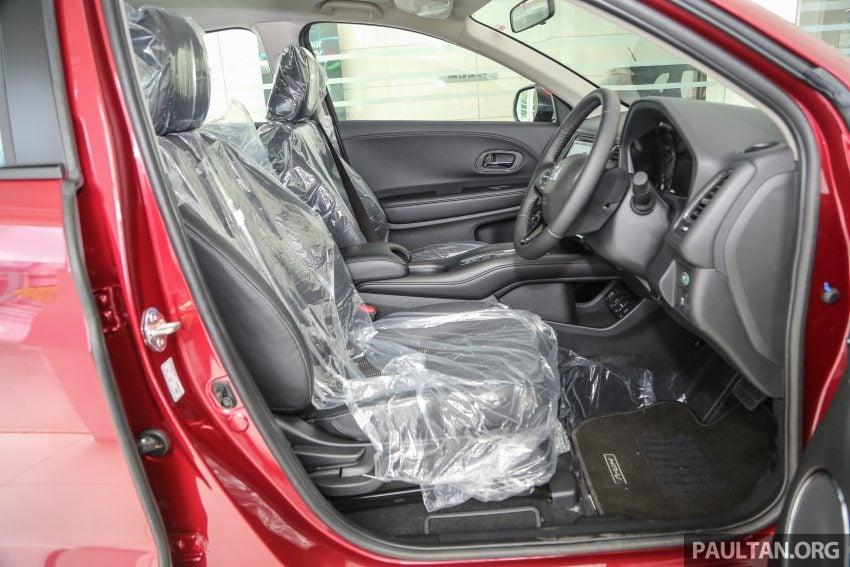 GALLERY: Honda HR-V in Dark Ruby Red Pearl colour Image #497630