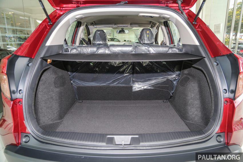 GALLERY: Honda HR-V in Dark Ruby Red Pearl colour Image #497634