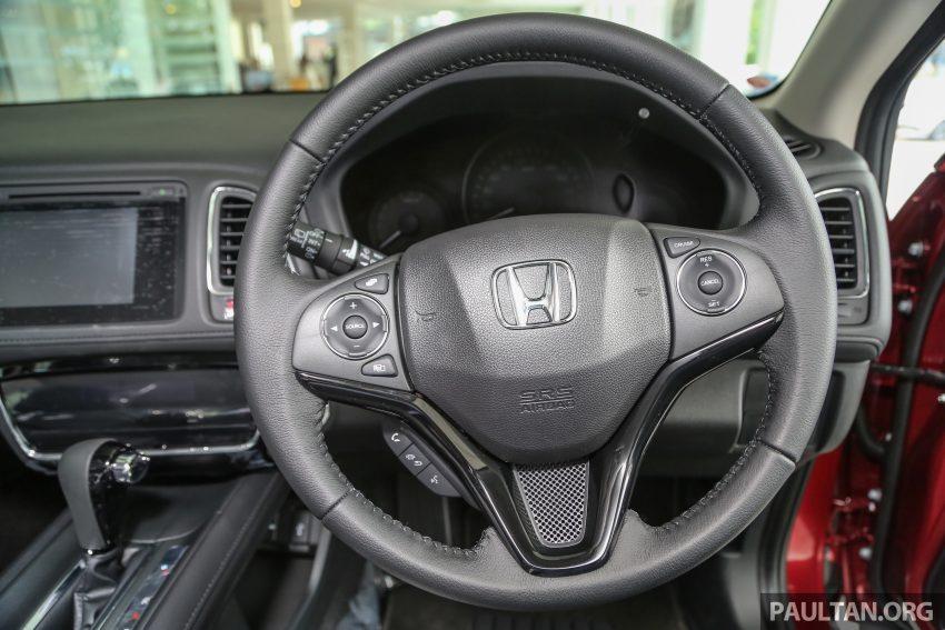 GALERI: Honda HR-V berwarna Dark Ruby Red Pearl Image #497721