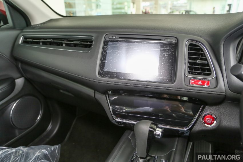 GALLERY: Honda HR-V in Dark Ruby Red Pearl colour Image #497619