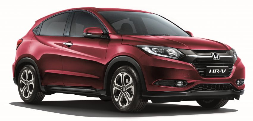Back to Story: Honda HR-V – Dark Ruby Red Pearl makes its debut