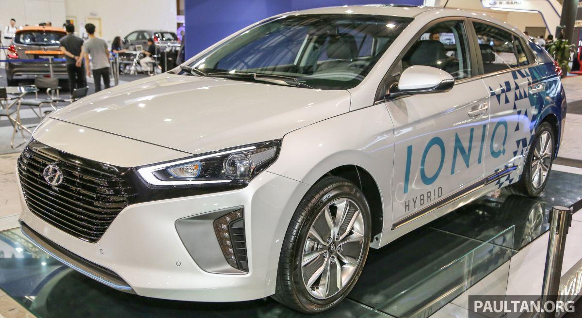 GALLERY: Hyundai Ioniq Hybrid on show in Malaysia