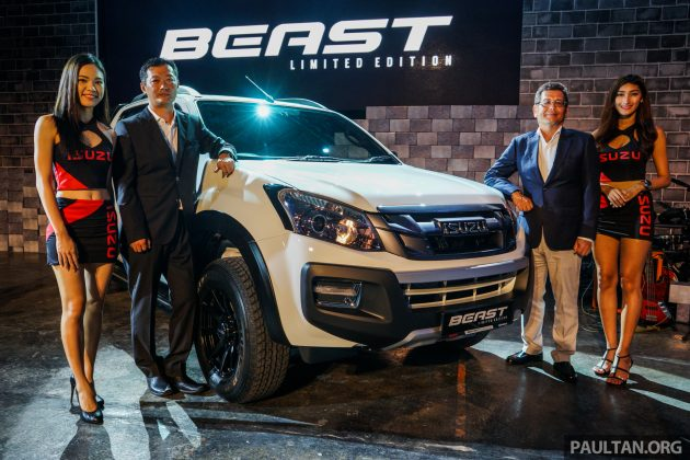 Isuzu D-Max Beast limited edition launched – 2.5L and 3.0L ...