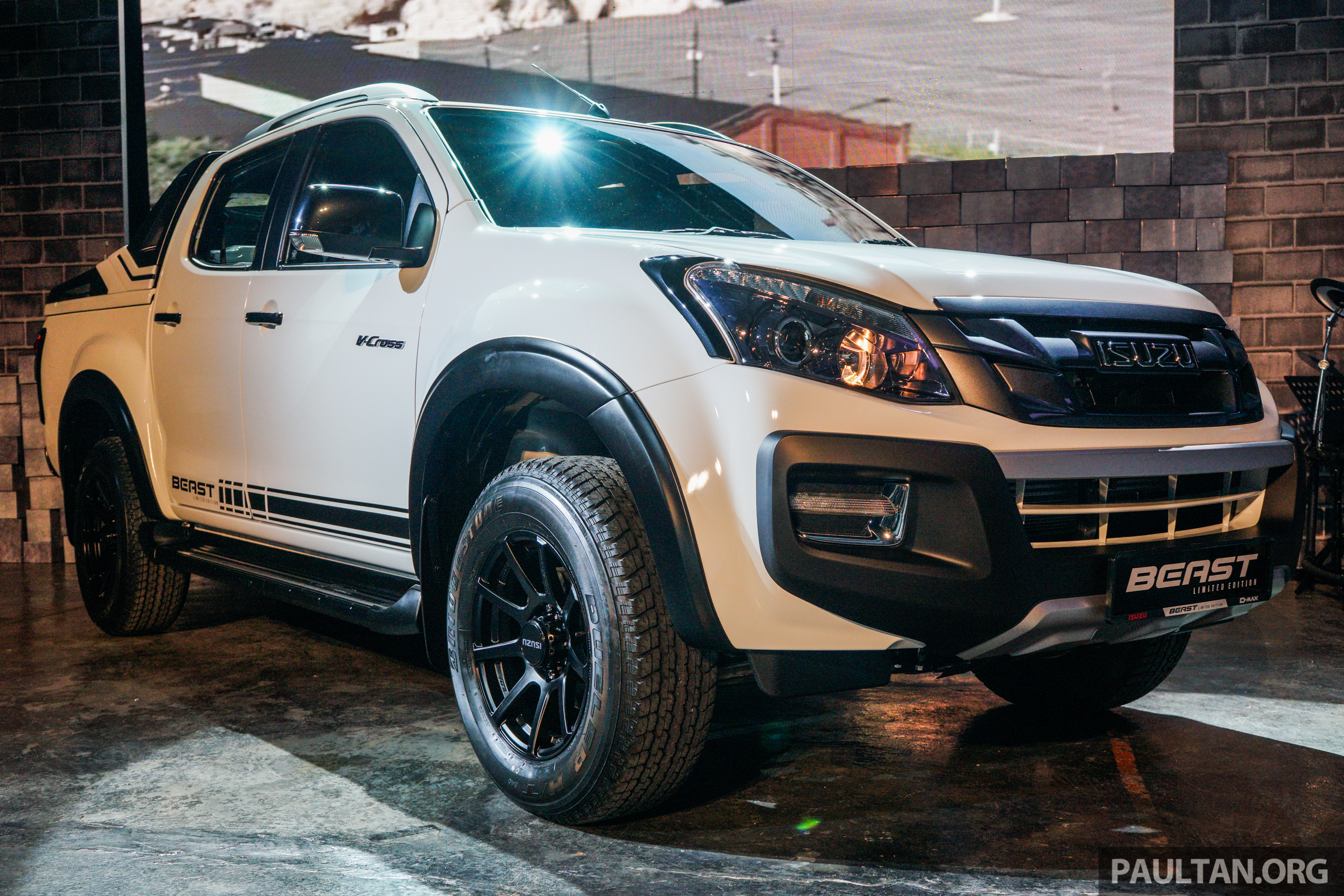 T Max 2018 >> Isuzu D-Max Beast limited edition launched – 2.5L and 3.0L 4×4 A/T, only 360 units, RM120k ...