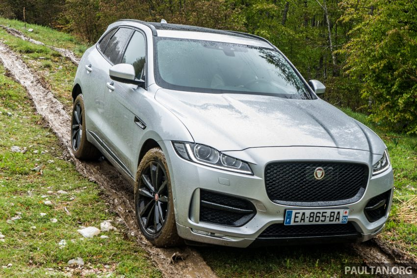 DRIVEN: Jaguar F-Pace – a go-anywhere Leaping Cat Image #494776