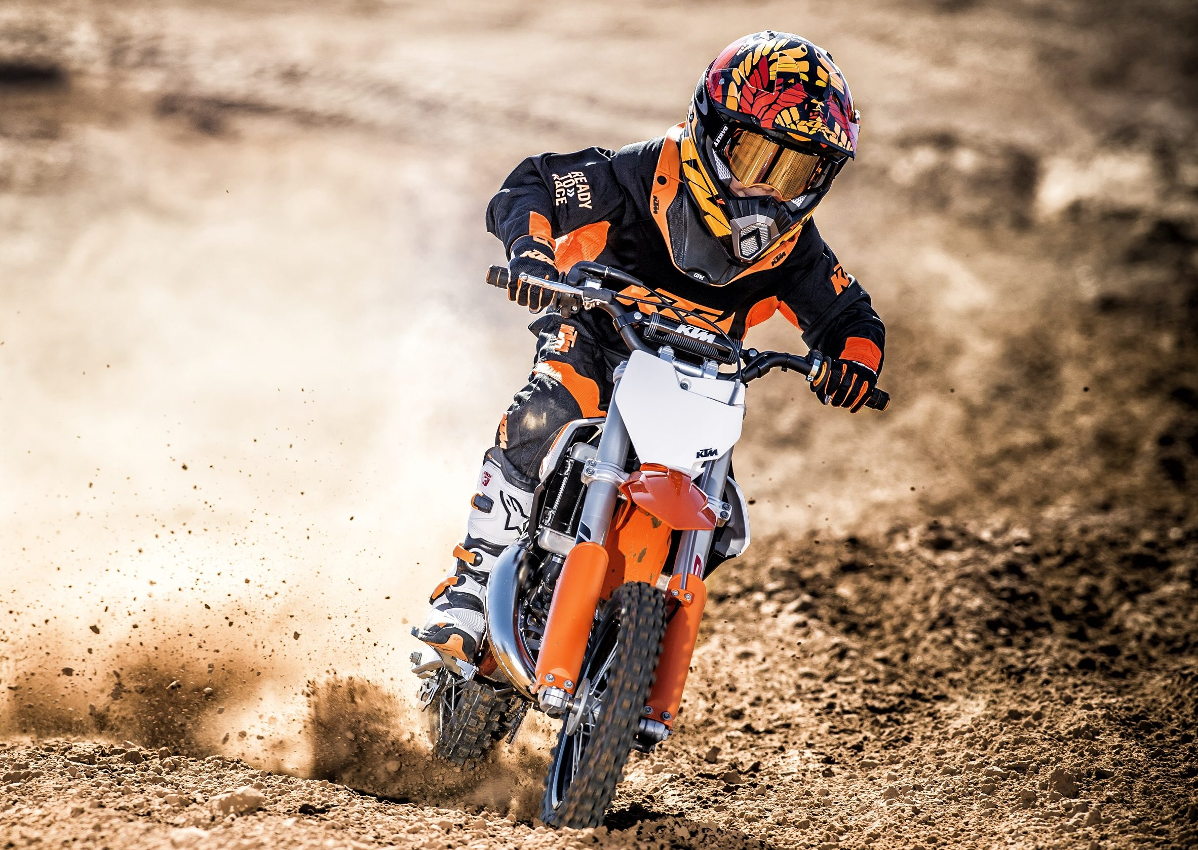 2017 Ktm Sport Minicycle Range Launched In Vegas