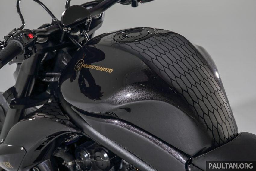 Kenstomoto BOBR: Malaysian Kenny Yeoh's third custom, based on a Kawasaki ER-6n – exclusive pics Image #500040