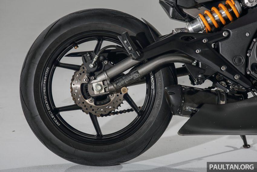 Kenstomoto BOBR: Malaysian Kenny Yeoh's third custom, based on a Kawasaki ER-6n – exclusive pics Image #500094