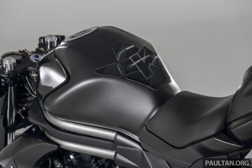 Kenstomoto BOBR: Malaysian Kenny Yeoh's third custom, based on a Kawasaki ER-6n – exclusive pics Image #500107