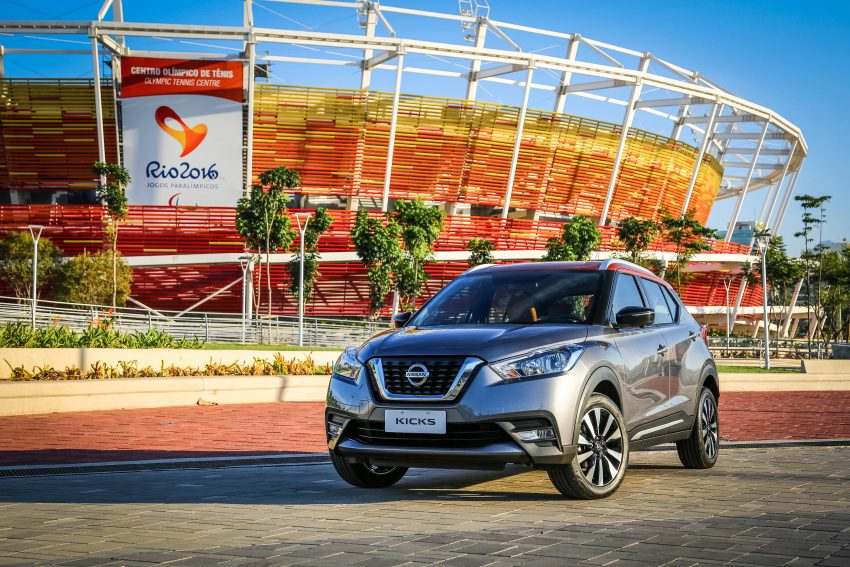 GALLERY: Nissan Kicks soaks up the Brazilian sun Image #487811