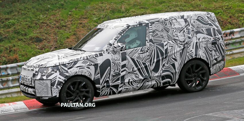 SPYSHOTS: 2017 Land Rover Discovery 5, in and out Image #499448