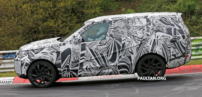 SPYSHOTS: 2017 Land Rover Discovery 5, in and out Image #499449