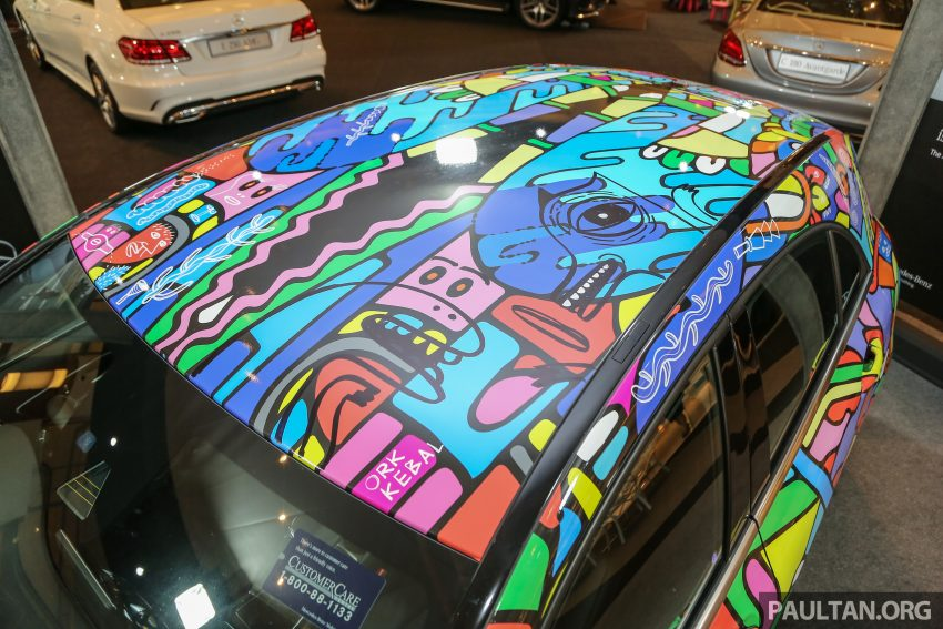 Mercedes-Benz A200 art cars to be displayed at KLPac Image #490966