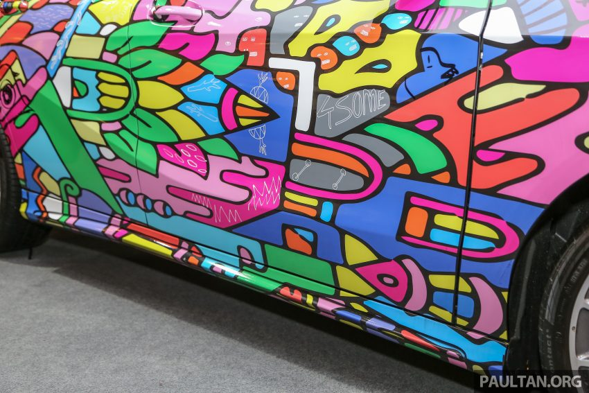 Mercedes-Benz A200 art cars to be displayed at KLPac Image #490972