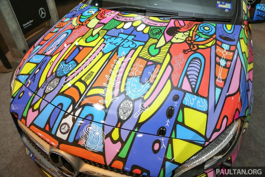 Mercedes-Benz A200 art cars to be displayed at KLPac Image #490964