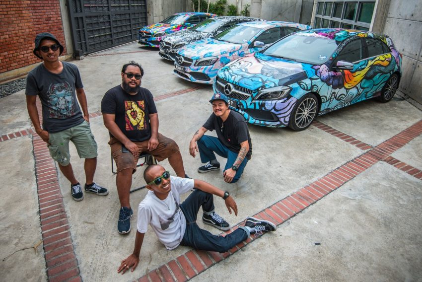 Mercedes-Benz A200 art cars to be displayed at KLPac Image #491020