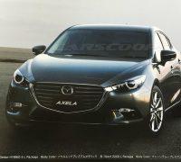 Mazda 3 Axela hatchback facelift-01