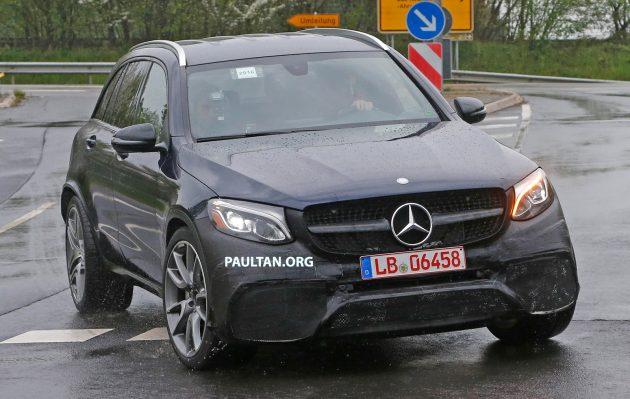 Mercedes AMG GLC63 Spyshots-01