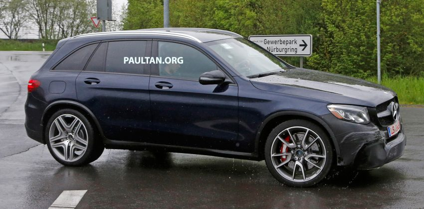 SPYSHOTS: Mercedes-AMG GLC 63 rolls to the 'Ring Image #499857