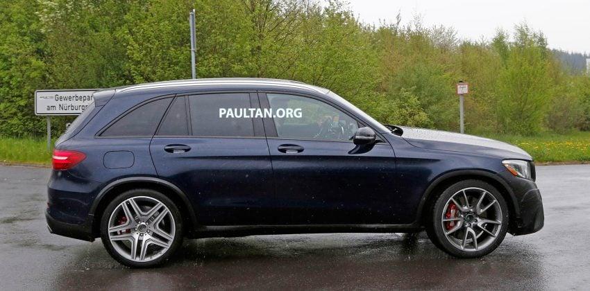 SPYSHOTS: Mercedes-AMG GLC 63 rolls to the 'Ring Image #499858