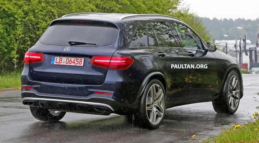 SPYSHOTS: Mercedes-AMG GLC 63 rolls to the 'Ring Image #499859