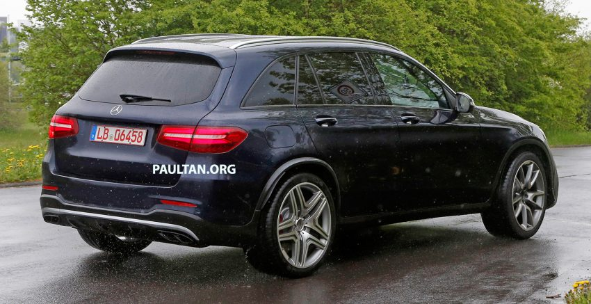 SPYSHOTS: Mercedes-AMG GLC 63 rolls to the 'Ring Image #499862