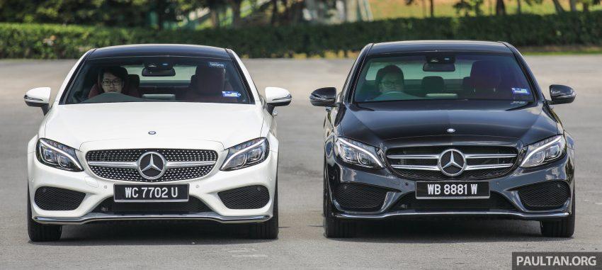 GALLERY: Mercedes-Benz C300 Coupe vs sedan Image #495909
