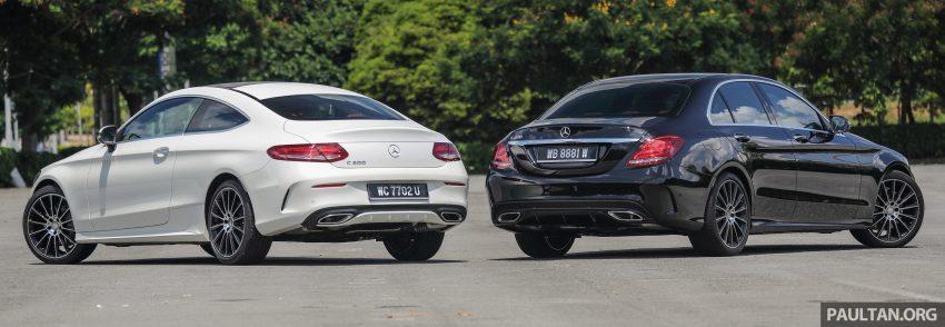 GALLERY: Mercedes-Benz C300 Coupe vs sedan Image #495918