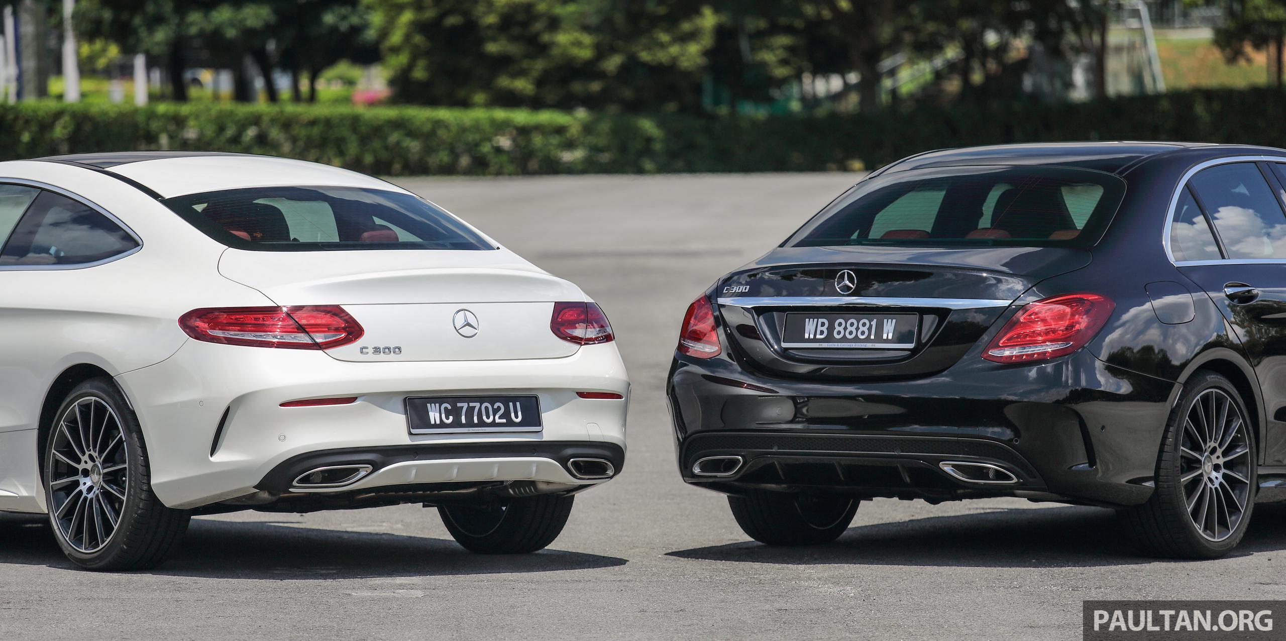 Gallery Mercedes Benz C300 Coupe Vs Sedan Paul Tan Image 495919