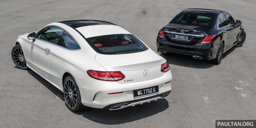 GALLERY: Mercedes-Benz C300 Coupe vs sedan Image #495921