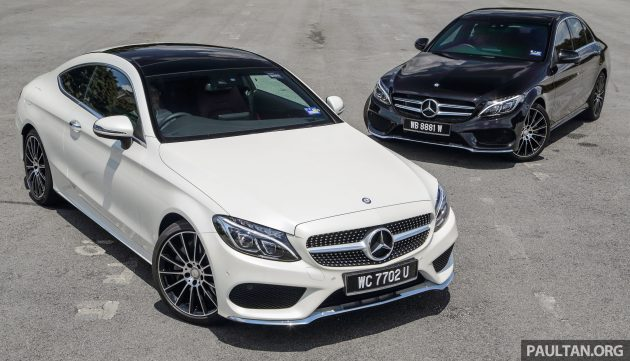 Gallery Mercedes Benz C300 Coupe Vs Sedan