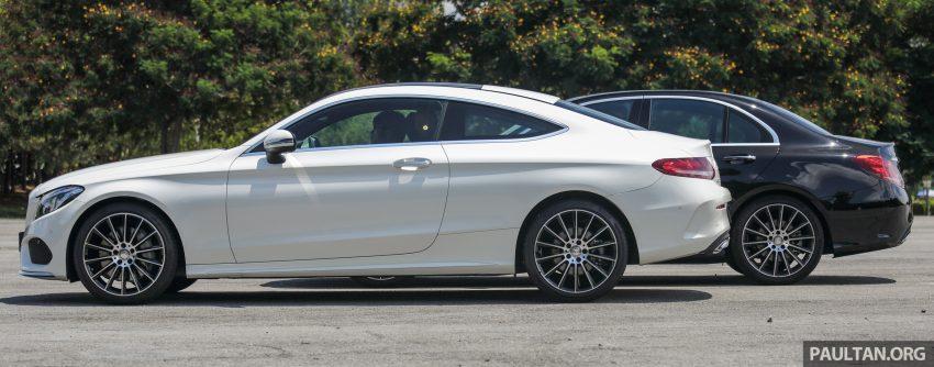 GALLERY: Mercedes-Benz C300 Coupe vs sedan Image #495925